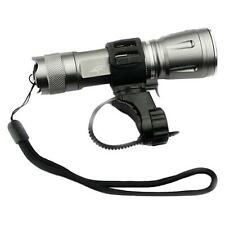 Outdoor Bike Cycling Bicycle Mount Holder For LED Flashlight Torch Clip Clamp B