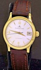 Jaeger LeCoultre Master Control 18K gold high fashion automatic ladies watch