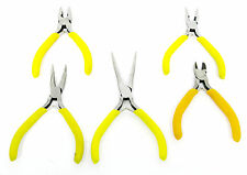 Mini Long Nose / Needle Nose / Bent Nose /  Combination Plier & Side Cutter New