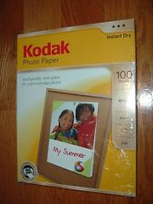 "Kodak 8.5""x11"" InkJet photo paper 100 sheets,matte,No.8318164 NEW UNOPENED PACK"