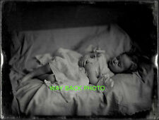 REPRINT OF 19th CENTURY POST-MORTEM PHOTO OF CHILD - Beautiful & Serene