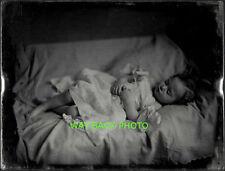 REPRINT OF 19th CENTURY POST-MORTEM PHOTO OF CHILD - Beautiful & Serene