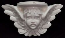 Cherub Indoor Speakers Set of 2 Ceramic Hanging Decor Angel Speaker 100 Watt