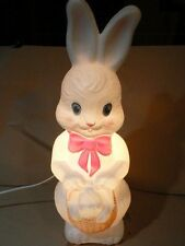 """Empire Easter Bunny Blow Mold 22"""""""