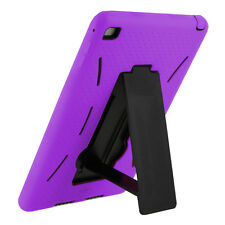 Mini 2 Case Purple Hybrid Armor Cover Skin with Stand For Apple iPad Mini 1/2/3