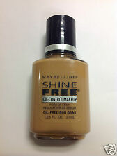 Maybelline Shine Free Oil-Control Makeup Foundation ( #7 GOLDEN BEIGE / FAWN  )