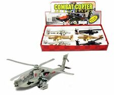 "PLANE DISPLAY 8"" COMBAT COPTER IC SOUND WITH LIGHT BOX SET OF 6"