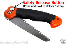 Mini Folding Camping and Pruning Saw Great for Survival Kits Gardening 10 1/2""