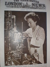 Photo article Dr Mildred Rebstock synthesises Chloromycetin against Typhus 1949