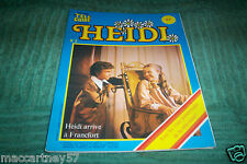 ALBUM NO 3 TELE GUIDE HEIDI arrive à francfort SERIE TELEVISEE lire description
