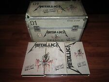 Live Shit Binge & Purge [Box] by Metallica  VHS Cassettes & Box Only