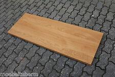 Tischplatte Regalbrett Platte Eiche Massiv Holz Leimholz Brett NEU Waschtisch