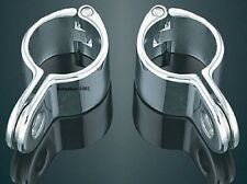 Kuryakyn Magnum™ Quick Clamps - 1.5 inch Chrome  Pair 1001