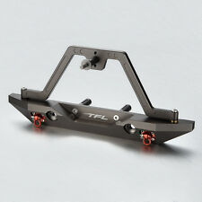 TFL CNC Aluminum Rear Bumper With Spare Tire Carrier For Axial SCX10 C1401-93