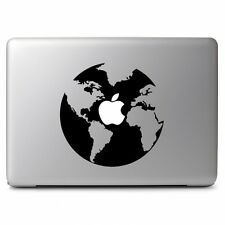 "Apple Earth  Vinyl Decal Sticker Skin for Apple Macbook Air Pro 13 15 17"" Laptop"