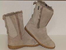 Quechua Novadry leather boots size 3 uk