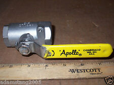 APOLLO 3/4 INCH 2000 WOG 316 STAINLESS STEEL BALL VALVE