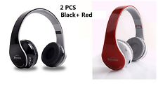 2 Pcs Wireless Stereo Bluetooth Headphones for Mobile Cell Phone Laptop Tablet