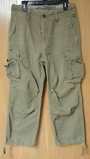 *NEW* NWT Abercrombie & Fitch Mens Classic Light Olive Recon Cargo Pants ~ 30 R