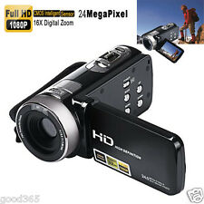 Full HD 1080P 24MP Digitale Videocamera DV HDMI 3'' TFT LCD 16X ZOOM