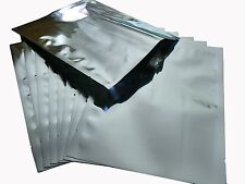 "Wholesale   (50) 10"" x 20"" 7.5mil Mylarfoil Bags for Long-term Food Storage"