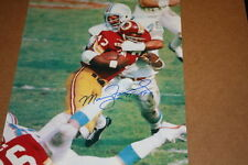 MANNY FERNANDEZ  SIGNED 11X14 PHOTO MIAMI DOLPHINS 17-0