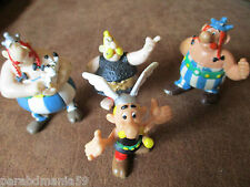 Vente Goscinny-Uderzo-Lot anciennes figurines Asterix-Obelix-Poissonnier