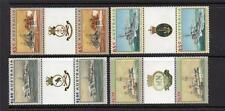 AUSTRALIA MNH 1993 SG1397-1400 WWII NAVAL VESSELS GUTTER PAIR SET OF 4