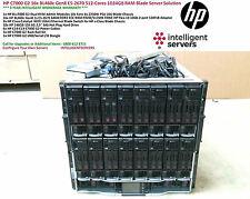 HP C7000 G2 16x HP BL460c Gen8 512-Cores 1024GB (1TB) de RAM solución de servidor blade