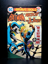COMICS: DC: Brave and the Bold #118 (1975), Batman/Wildcat - RARE (joker)