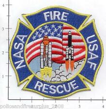 Florida - NASA Kennedy Space Center FL Fire Rescue Fire Dept Patch v3 - Rescue