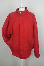 De Colección Adidas Deportes Rojo Retro 90S Abrigo Chaqueta De Esquí Brillante Festival Rompevientos Reino Unido M