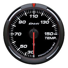 Defi Racer Gauge 60mm Temperature Meter DF11706 White