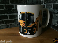 JCB 3CX DIGGER - JCB - CERAMIC MUG - IDEAL GIFT - PERSONALISED IF REQUIRED