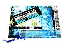 Ein Aufkleber Tour 2000 Werbung vor der Tour & während der Tour BÖHSE ONKELZ