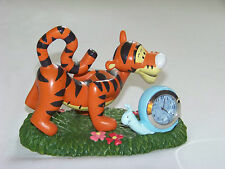 DISNEY: Winnie the Pooh - TIGGER & SNAIL Mini CLOCK 'Do You Bounce too?'