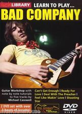 LICK LIBRARY Learn to Play BAD COMPANY Can't Get Enough Shooting Star GUITAR DVD