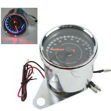 Universal Motorcycle LED Digital Tachometer Speedometer Tacho Gauge 12V