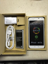 NEW Samsung Galaxy S5 SM-G900A-16GB-White UNLOCKED GSM Smartphone AT&T TMOBILE P