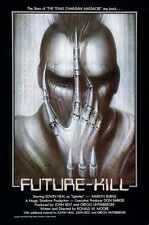 Future Kill Poster 01 Metal Sign A4 12x8 Aluminium