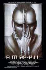 Future Kill Poster 01 Metal Sign A4 12x8 Aluminium