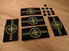5 Stone Island Badge Patch with 10 Buttons