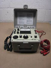 Biddle 560400 Motor & Phase Rotation Tester 600V- 25/60/400Hz FREE SHIPPING