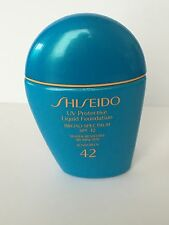 SHISEIDO UV PROTECTIVE LIQUID FOUNDATION 30ML/1oz~  MEDIUM IVORY SPF 42 ~