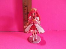 "Precure 4""in Girl Figure with Red Hair and Outfit Looking Like a Queen"
