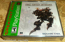 Final Fantasy ANTHOLOGY Sony PlayStation PS1 PS2 SYSTEM GAME NEW Sealed