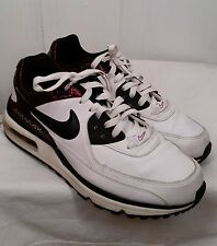 Nike Air Max Wright Casual Running Shoes white black red mens Sz 10