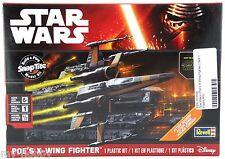 Star Wars: The Force Awakens Poe's X-Wing Fighter Model Kit - Revell #85-1635
