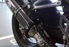 R&G BLACK 'SUPERMOTO STYLE' EXHAUST CAN PROTECTOR for YOSHIMURA R-77 CANS