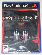 *NEW & FACTORY SEALED* PS2 RARE Horror Game PROJECT ZERO 2 CRIMSON BUTTERFLY PAL